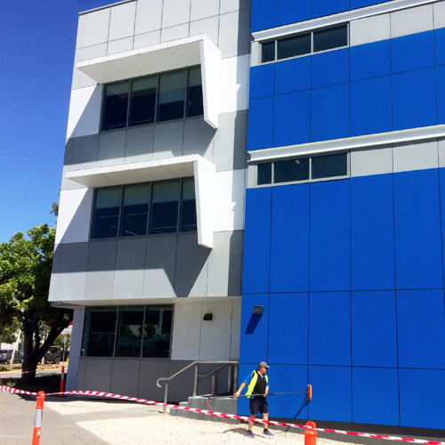 Commercial Facade Cleaning