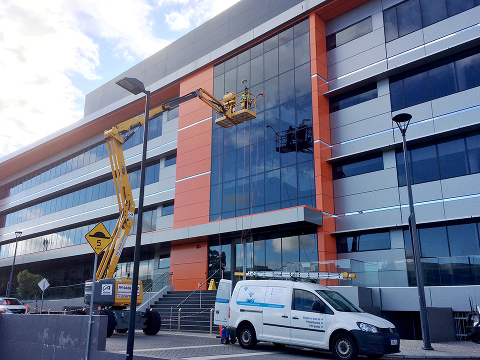 Commercial Window Cleaning Perth